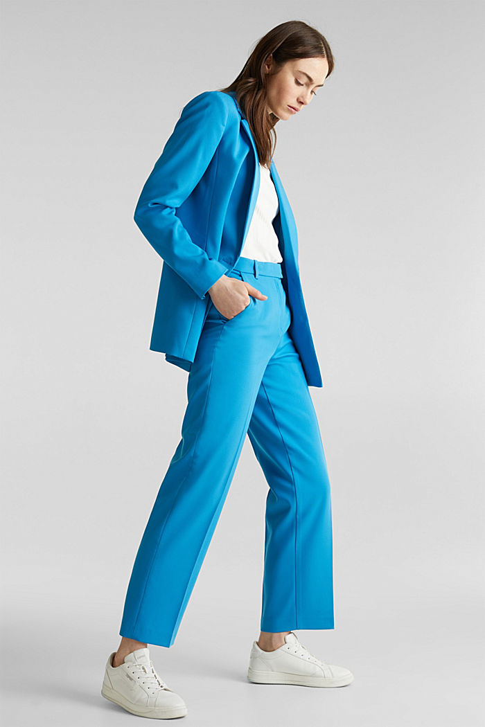 SHIMMER Mix + Match Stretch-Blazer, DARK TURQUOISE, detail image number 1