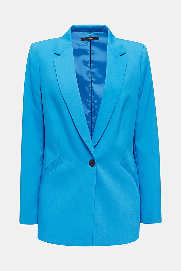 SHIMMER Mix + Match Stretch-Blazer, DARK TURQUOISE, detail image number 5