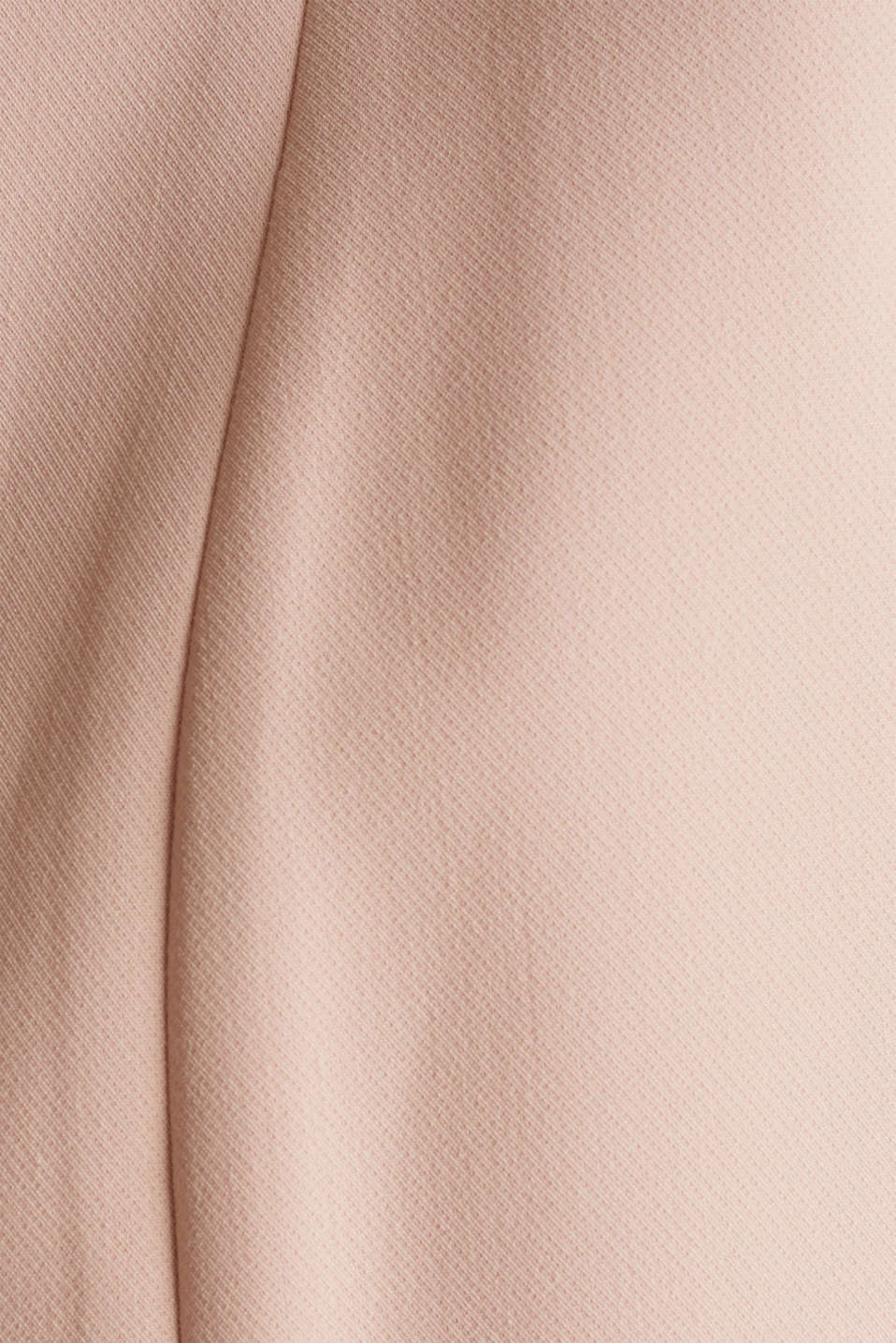 Open short blazer with a popped collar, PASTEL PINK, detail image number 4