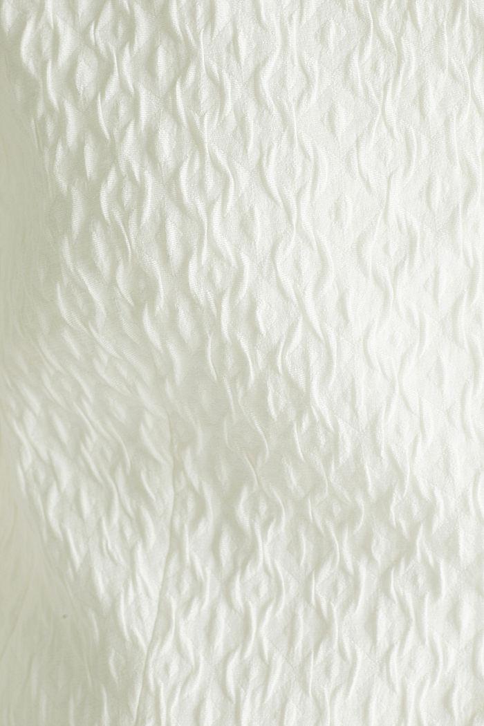 Web-Bolero mit Struktur, OFF WHITE, detail image number 4