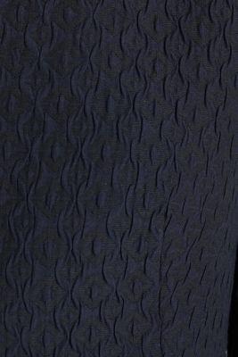 Textured woven bolero, NAVY, detail