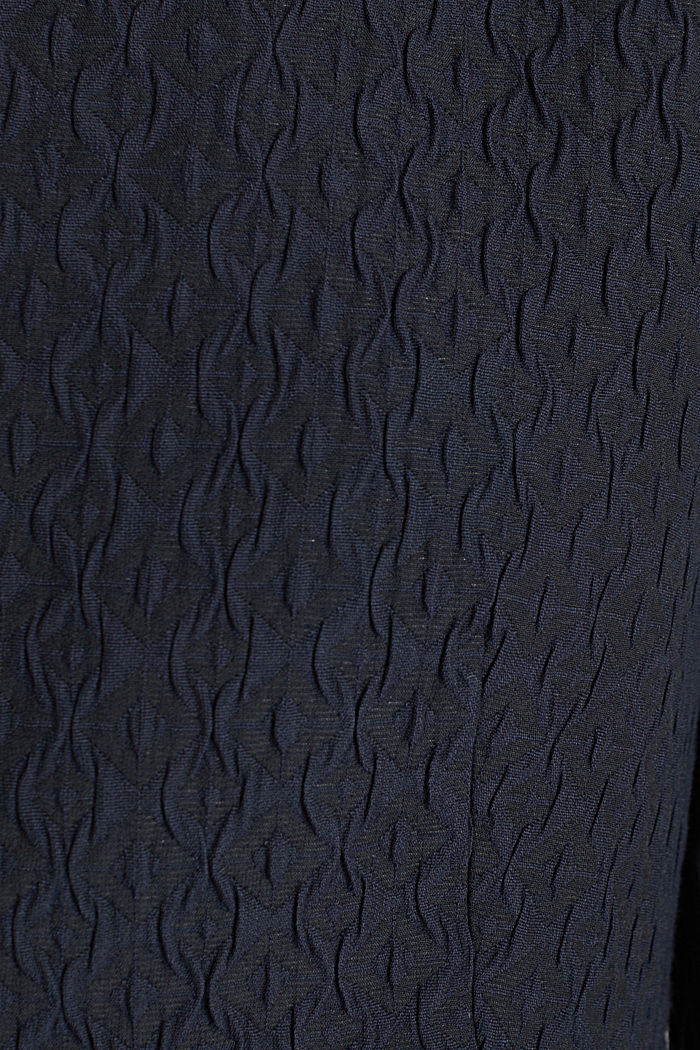 Textured woven bolero, NAVY, detail image number 4