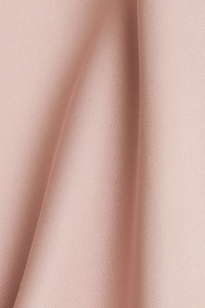Satin bomber jacket, NUDE, detail image number 4