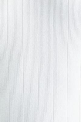 Knitted top containing LENZING™ ECOVERO™, OFF WHITE, detail