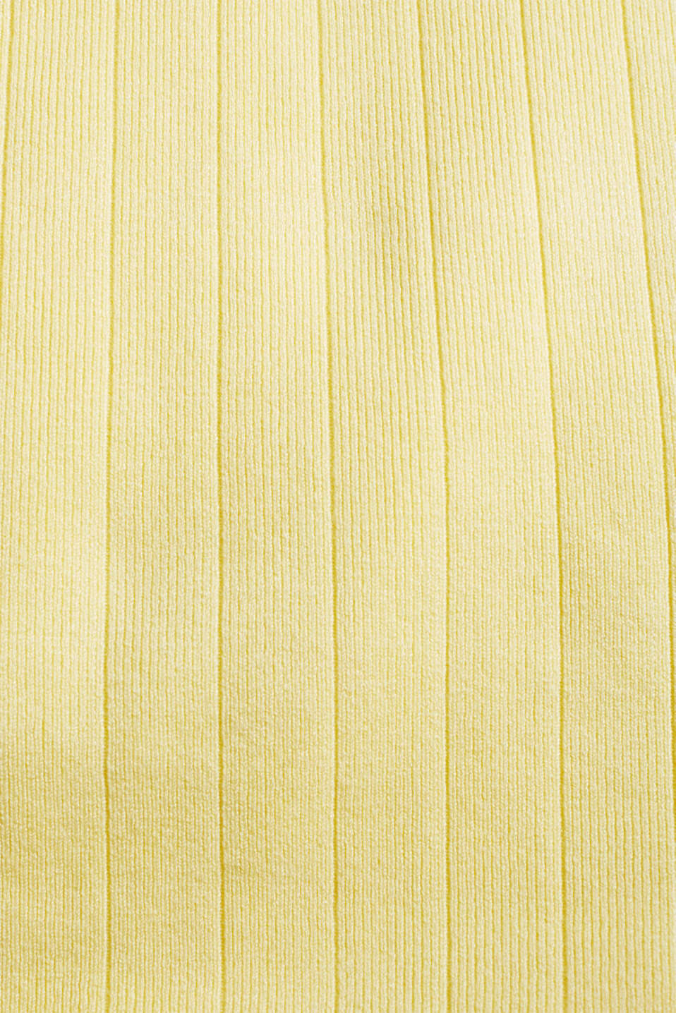 Knitted top containing LENZING™ ECOVERO™, LIME YELLOW, detail image number 3