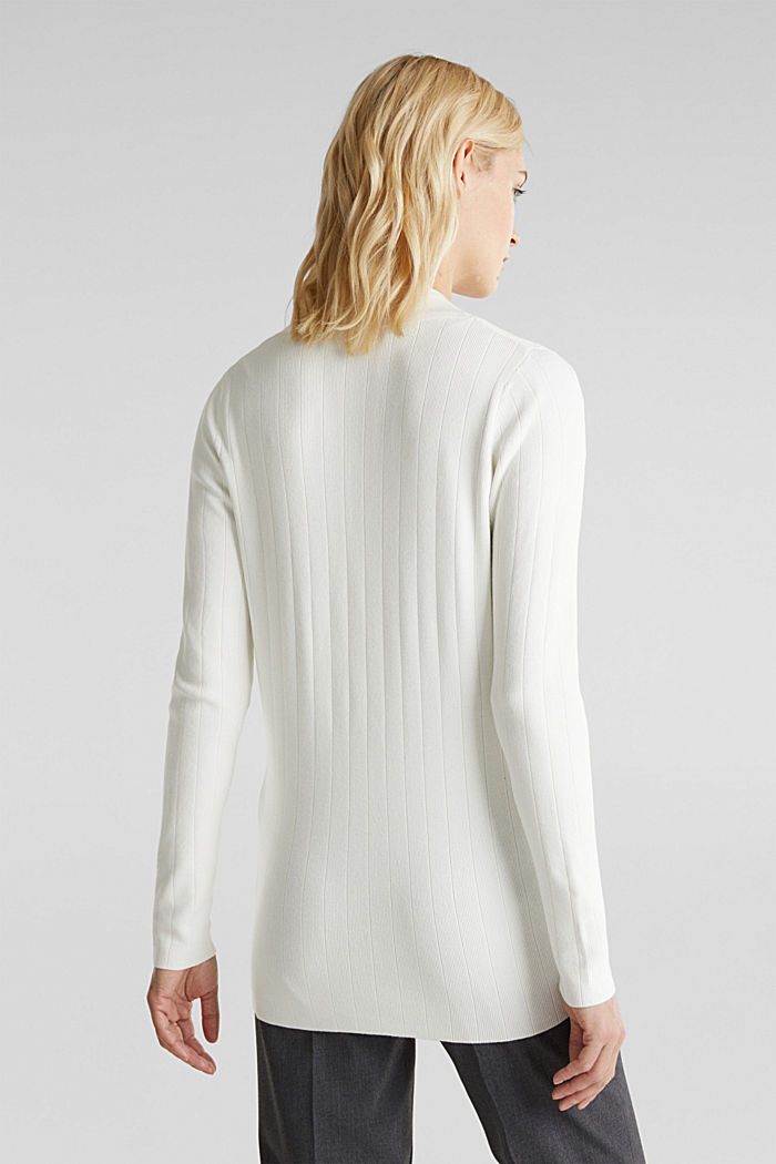 Vest met LENZING™ ECOVERO™, OFF WHITE, detail image number 3