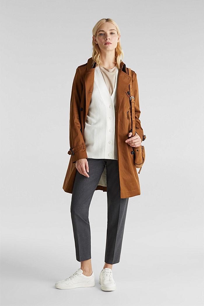 Vest met LENZING™ ECOVERO™, OFF WHITE, detail image number 1