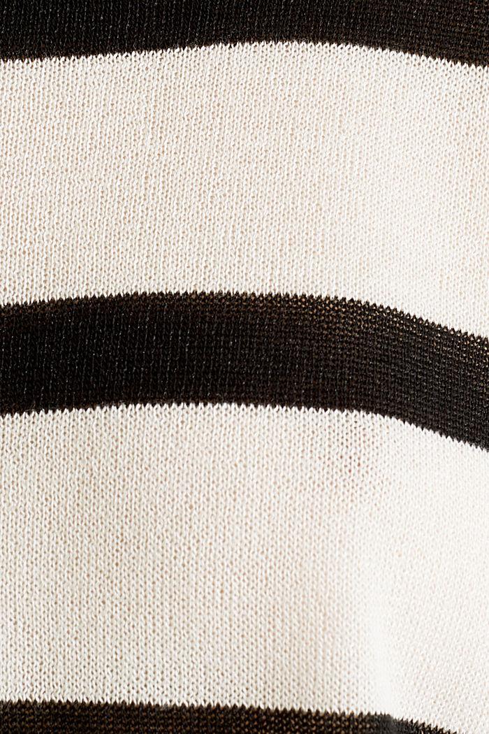 Fledermaus-Pullover aus Crêpe-Garn, NEW OFF WHITE, detail image number 4