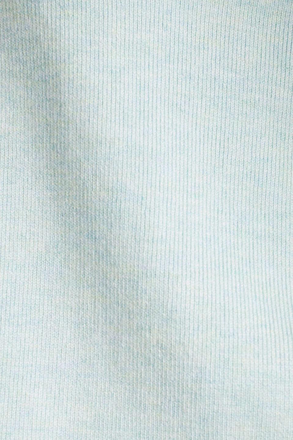 Bolero with LENZING™ ECOVERO™, LIGHT TURQUOISE 5, detail image number 4
