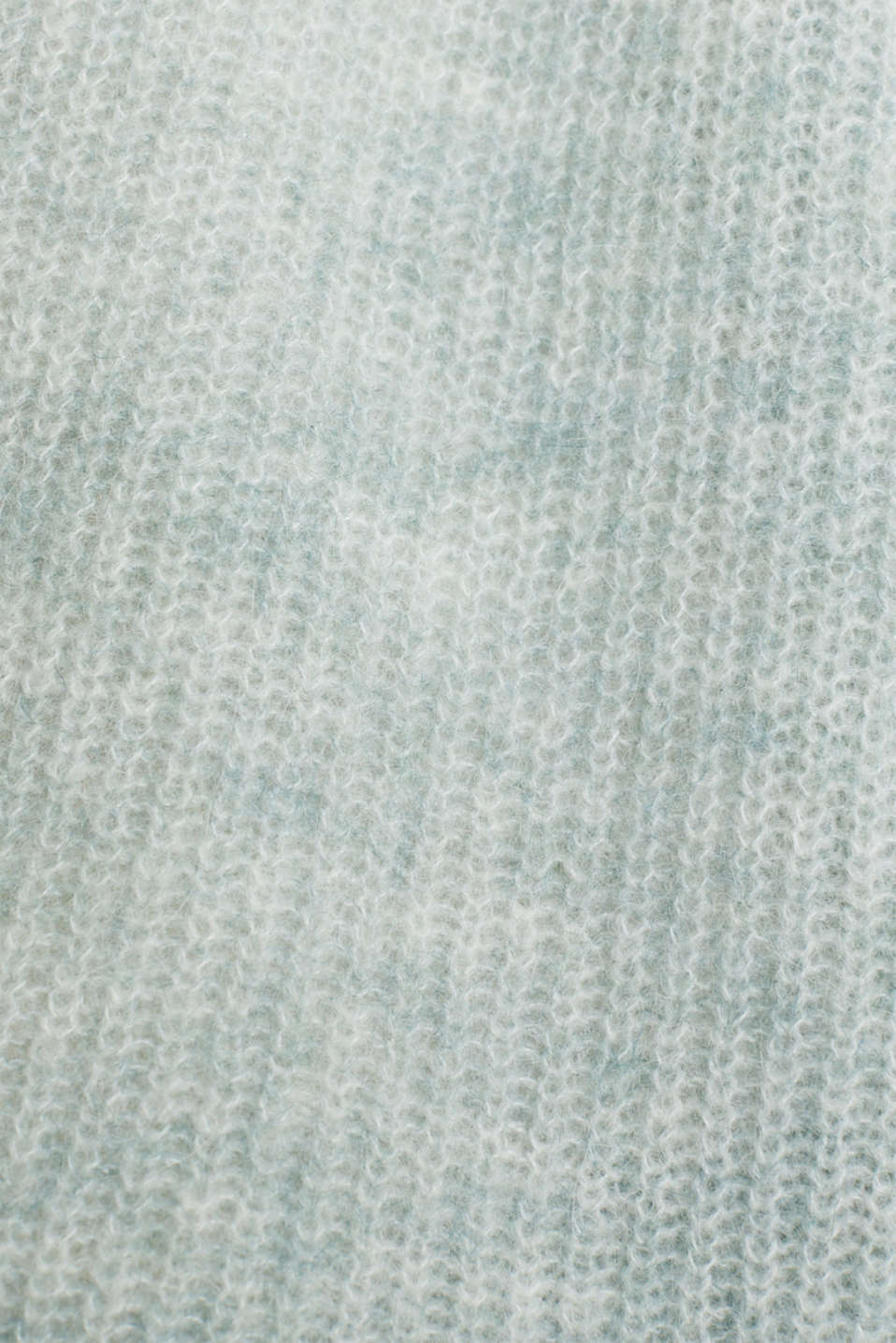 With wool/alpaca: premium cardigan, DUSTY GREEN 2, detail image number 4
