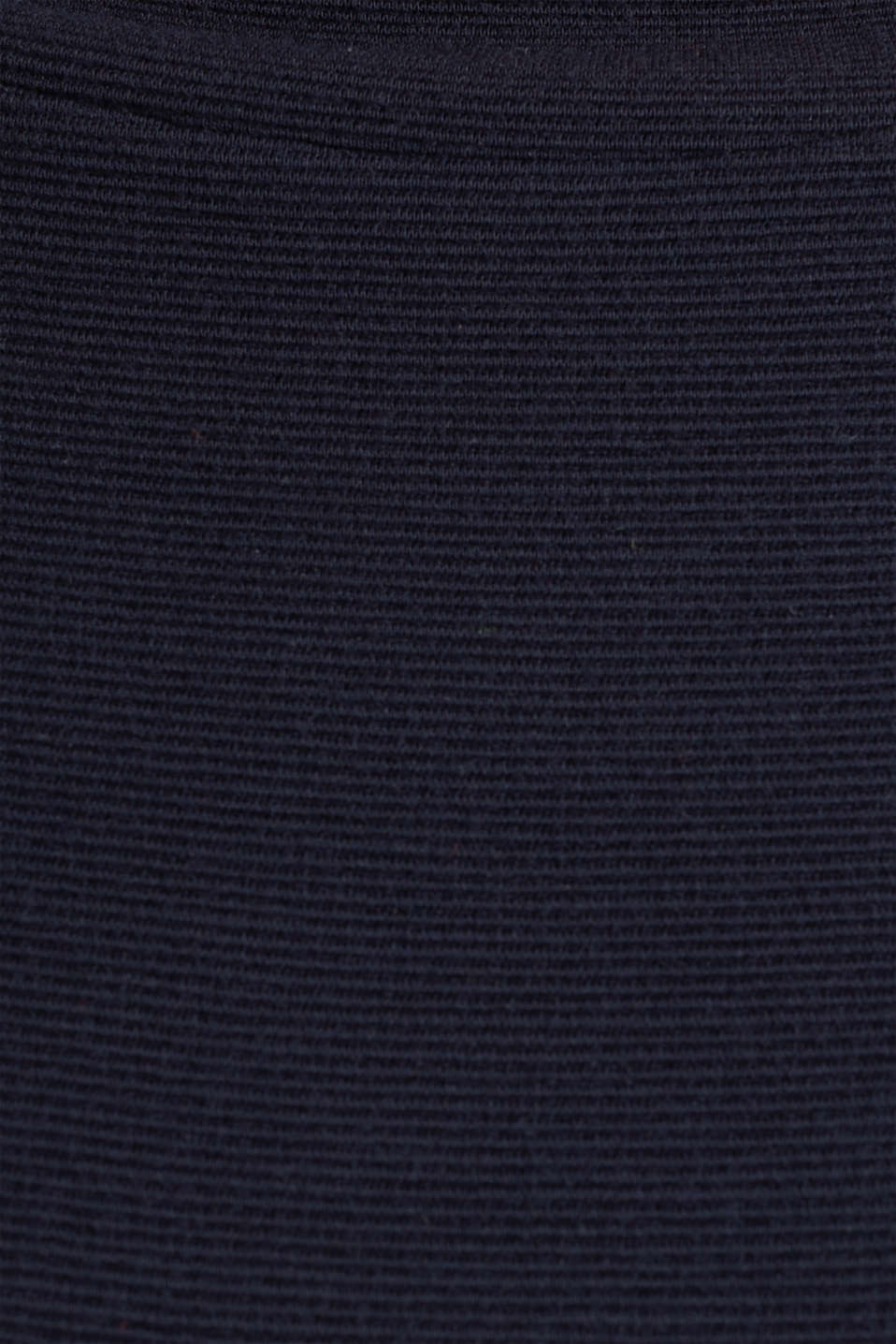 Ribbed sweatshirt with a stand-up collar, NAVY, detail image number 4