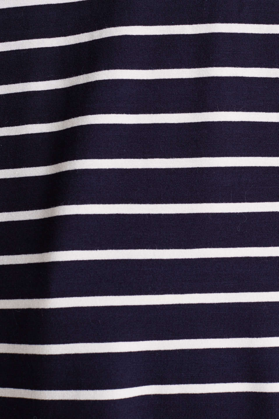Stretch top with stripes, NAVY, detail image number 4
