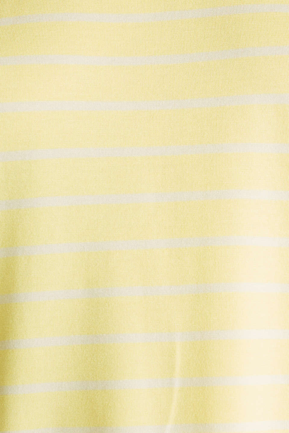 Stretch top with stripes, LIME YELLOW, detail image number 3