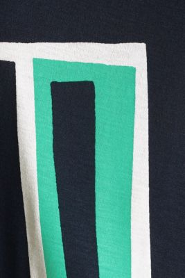 T-shirt with a geometric print, OFF WHITE, detail