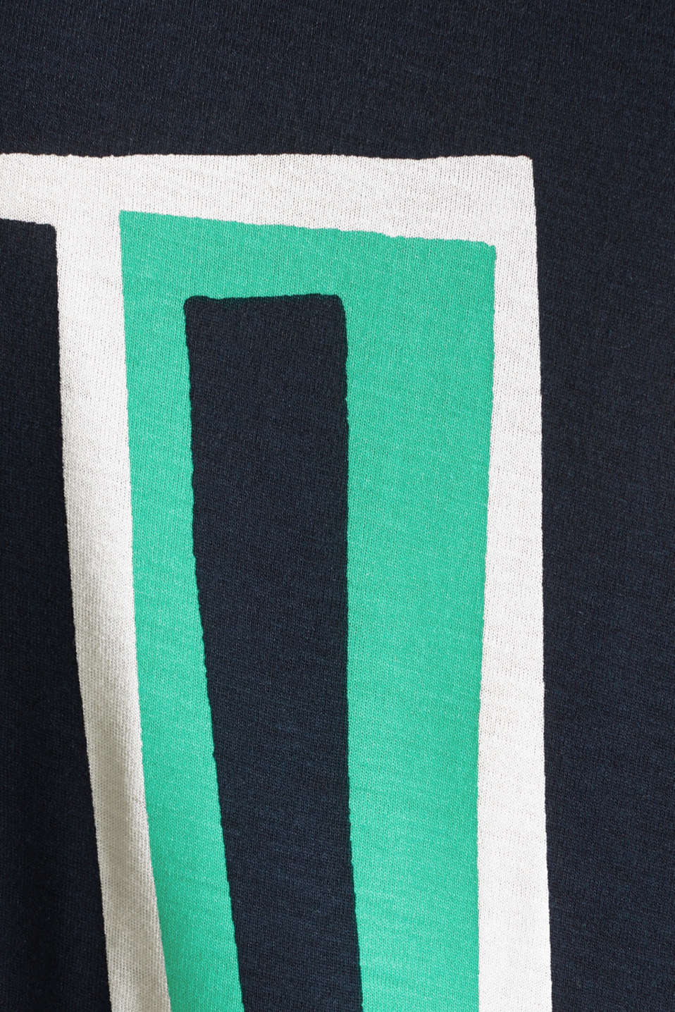T-shirt with a geometric print, OFF WHITE, detail image number 4