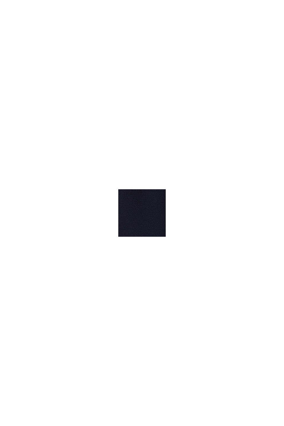 Jumpsuit av crêpe i culottemodell, NAVY, swatch