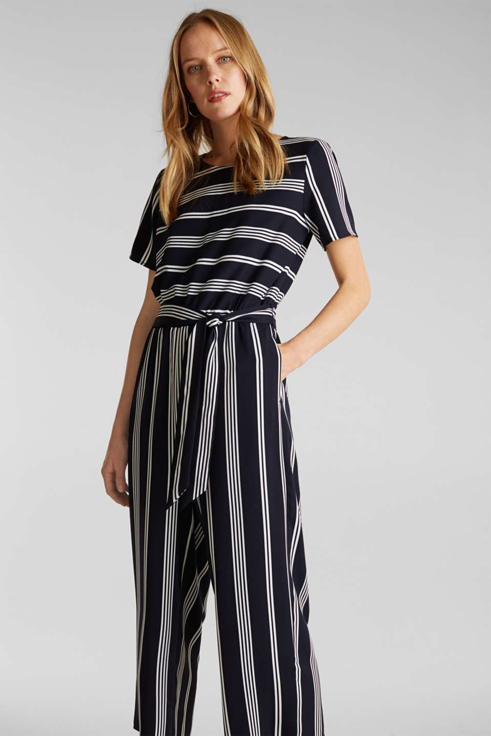 Esprit - Recycled: Jumpsuit with culottes