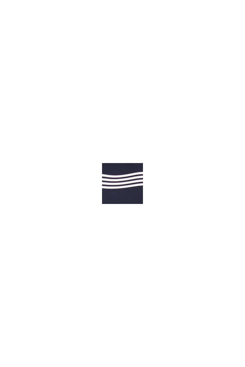 Recycelt: Jumpsuit mit Culotte, NAVY, swatch