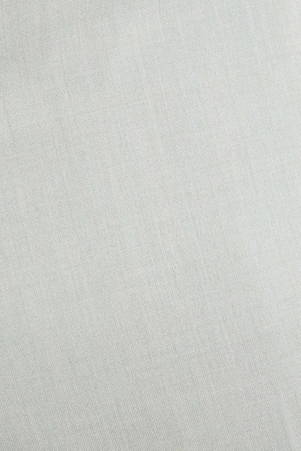 FINE MELANGE mix + match trousers, PASTEL GREEN 5, detail image number 5