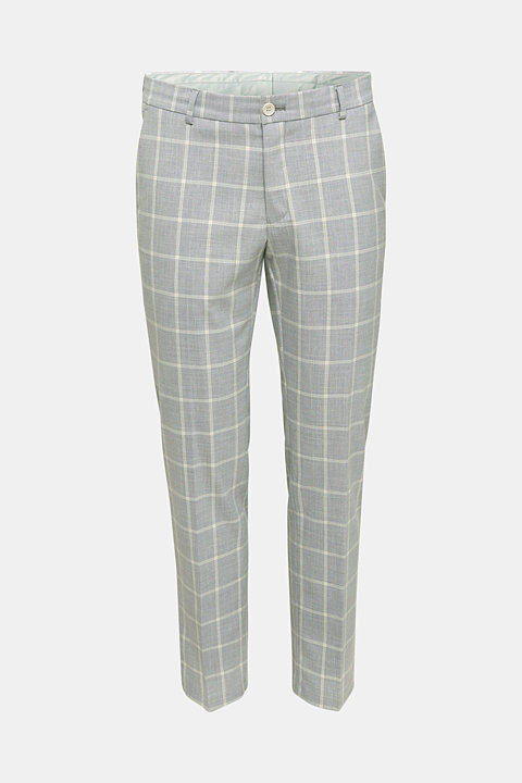 SUMMER CHECK mix + match trousers