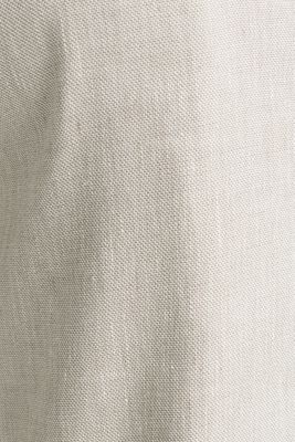 End-on-end linen blend trousers, SAND 5, detail