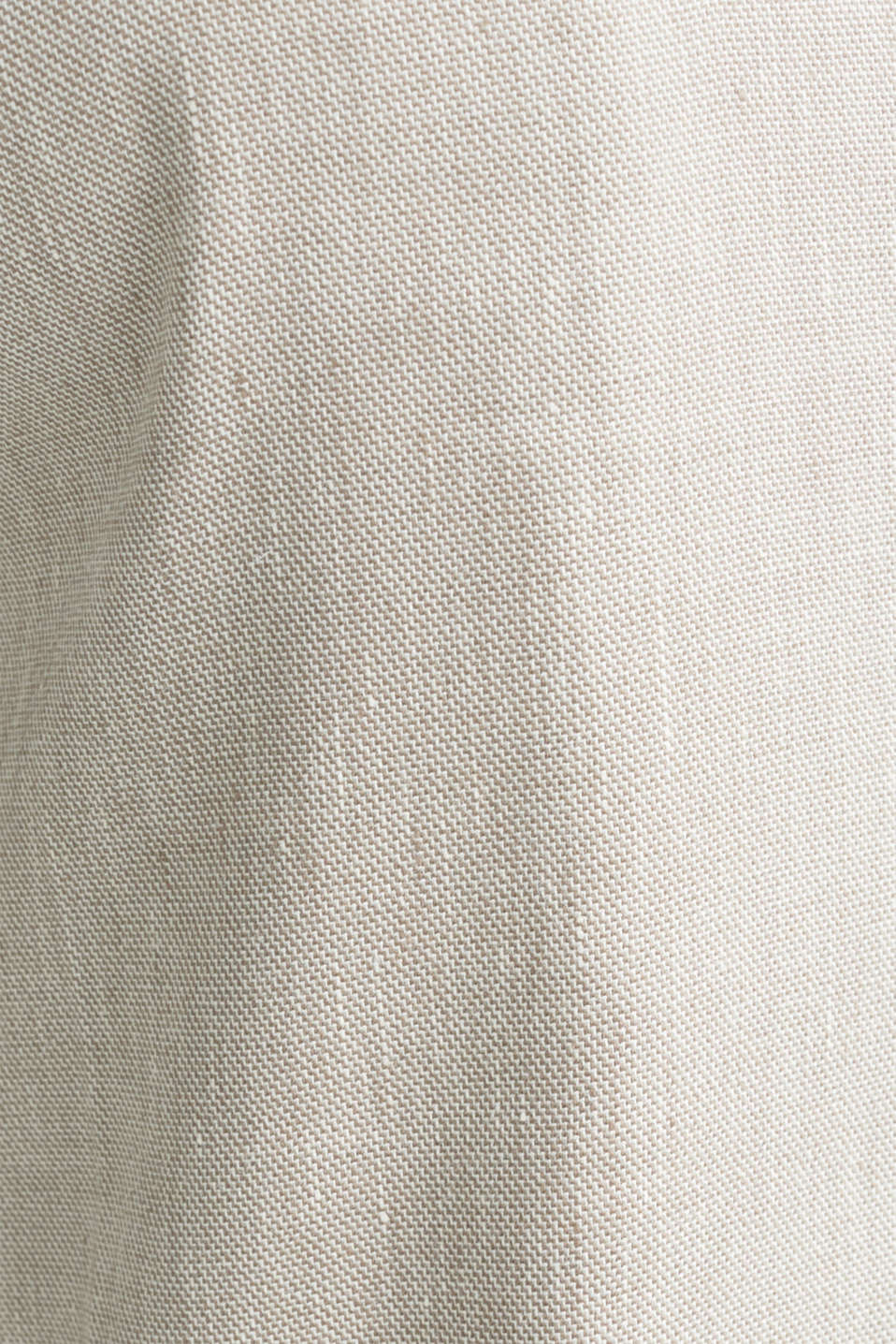 End-on-end linen blend trousers, SAND 5, detail image number 4