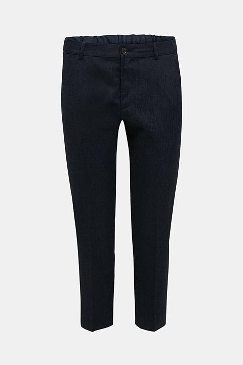 LINEN made of blended linen: mix + match trousers