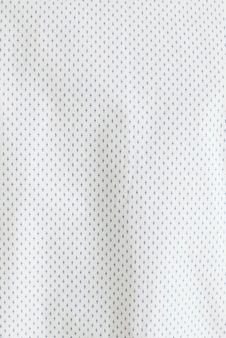 Shirt with mechanical stretch, 100% cotton, WHITE 4, detail image number 4