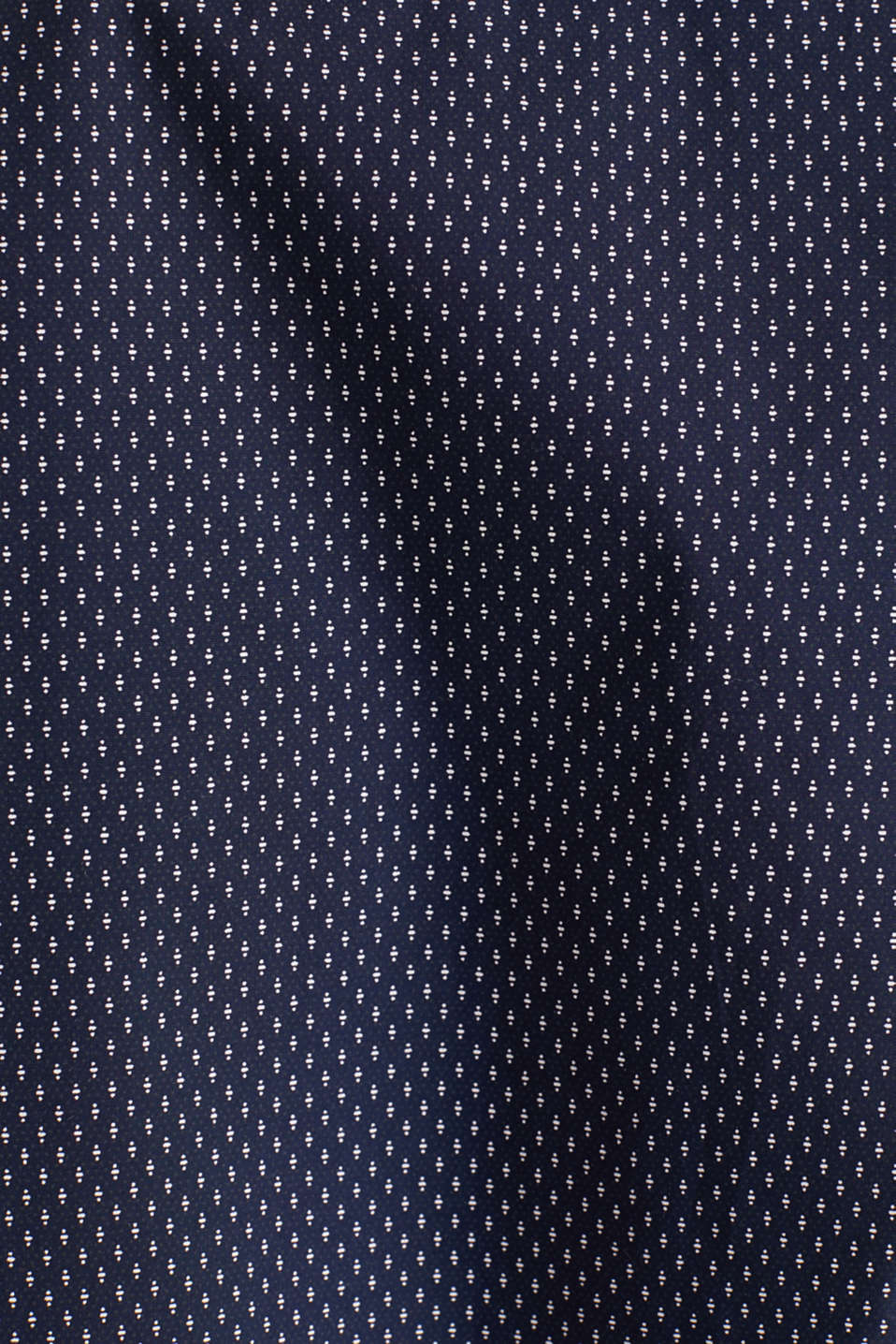 Shirt with mechanical stretch, 100% cotton, NAVY 4, detail image number 4