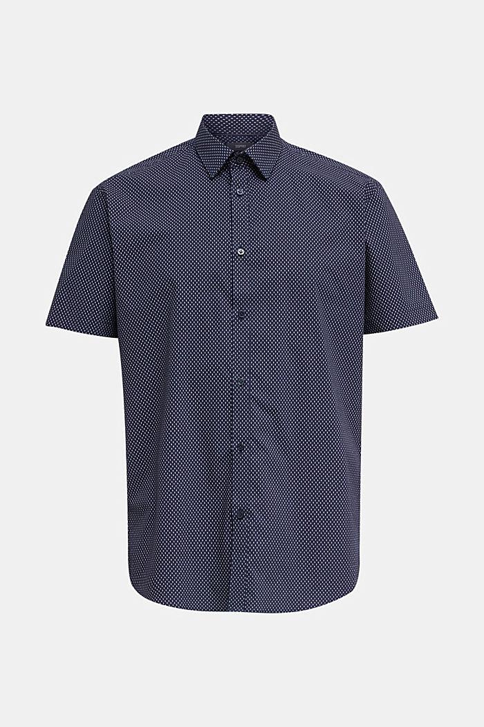 Hemd mit mechanischem Stretch, 100% Baumwolle