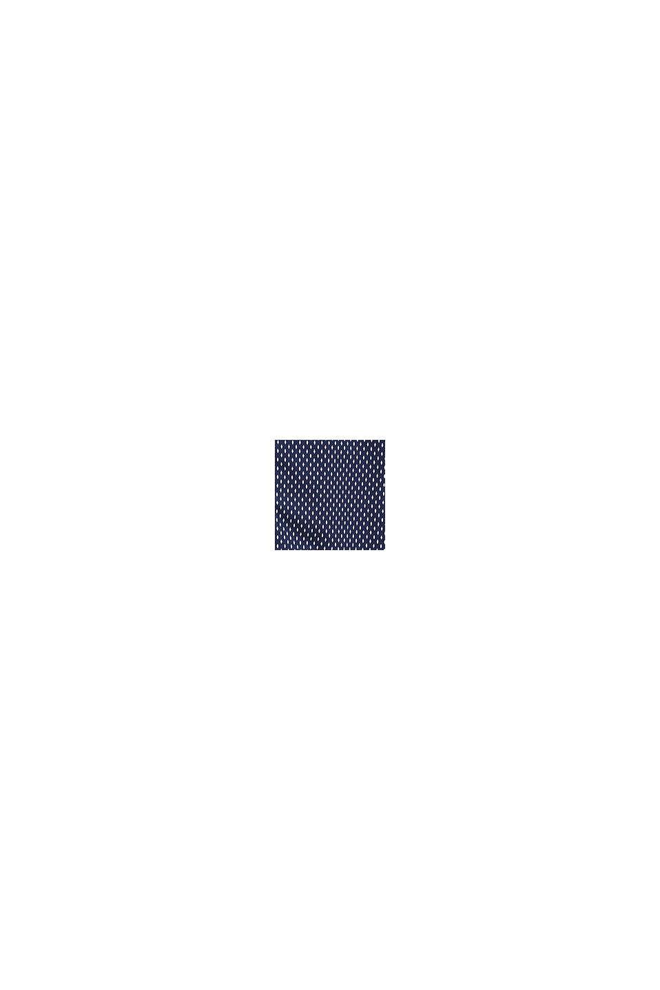 Camicia con stretch meccanico, 100% cotone, NAVY, swatch