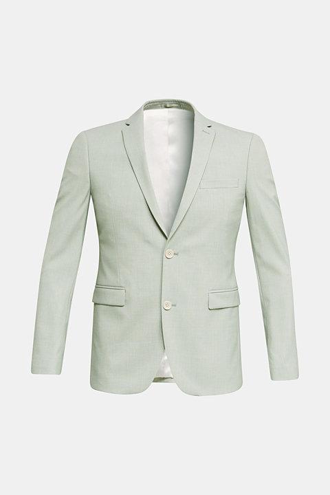 FINE MELANGE Mix + match tailored jacket