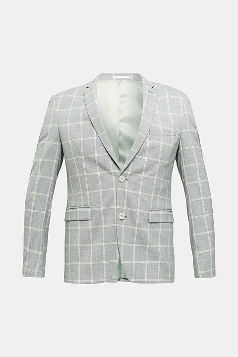 SUMMER CHECK mix + match tailored jacket