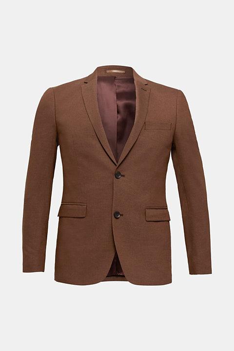 LINEN made of blended linen: mix + match tailored jacket