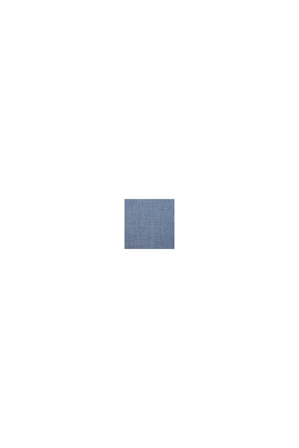 FIL-A-FIL Aus Leinen-Mix: Weste, BLUE, swatch