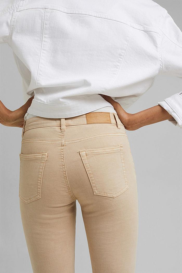 Capri-Hose aus Organic Cotton, BEIGE, detail image number 2