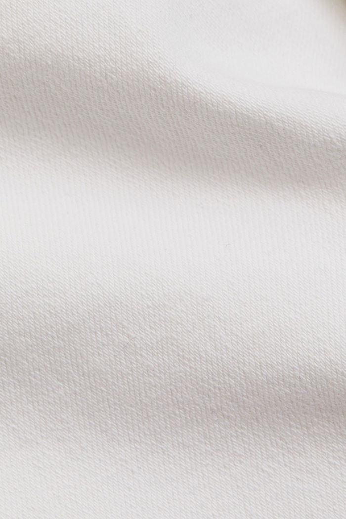 Stretch-Denim aus Organic Cotton, WHITE, detail image number 4