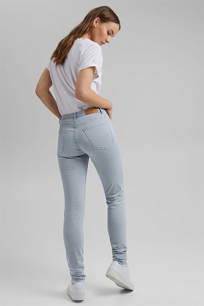Stretch-Hose aus Organic Cotton, LIGHT BLUE LAVENDER, detail image number 3