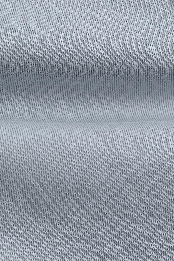Stretch-Hose aus Organic Cotton, LIGHT BLUE LAVENDER, detail image number 4