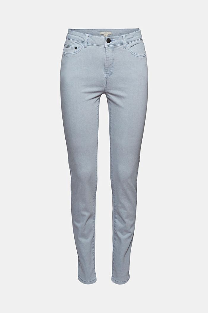 Stretch-Hose aus Organic Cotton, LIGHT BLUE LAVENDER, detail image number 7