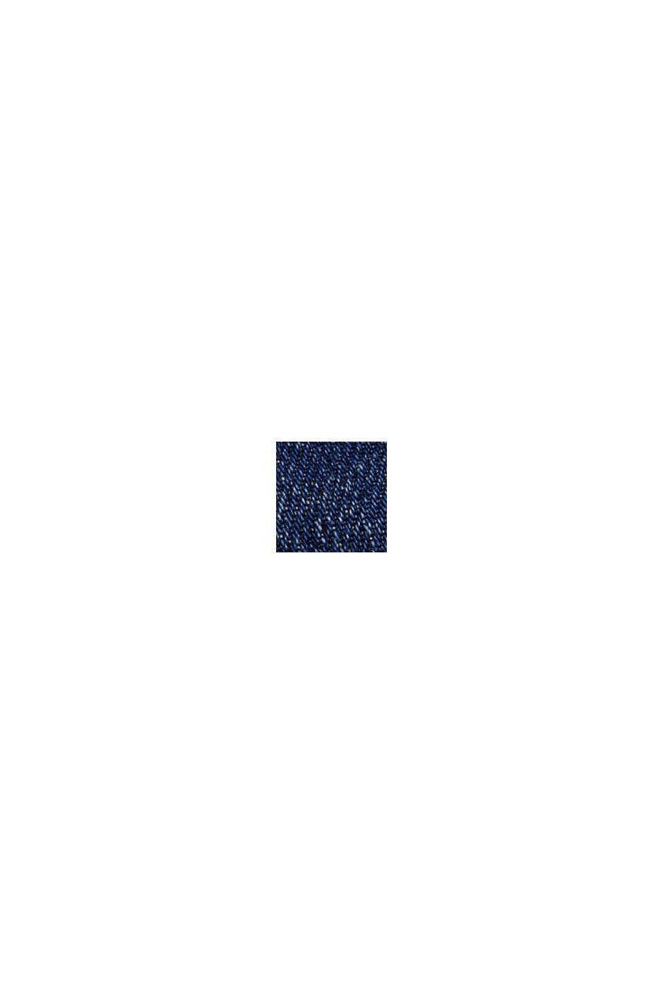 Culotte vaquero en algodón ecológico, BLUE DARK WASHED, swatch