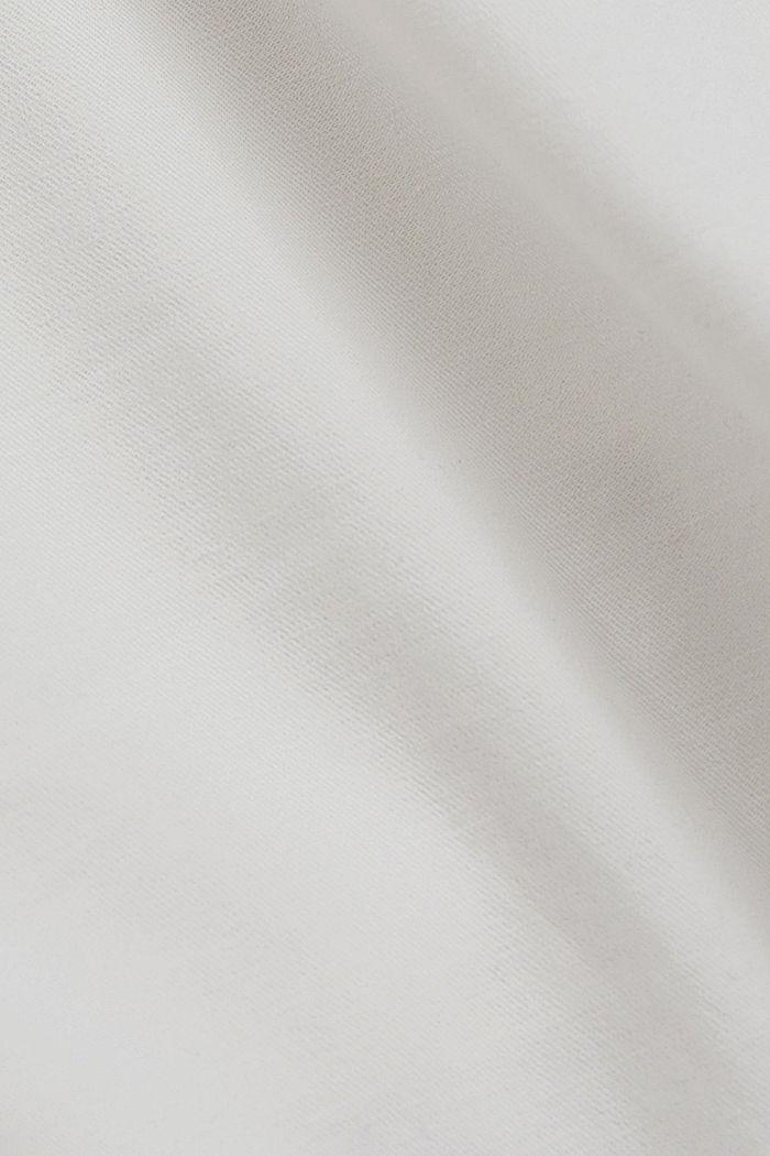 Chinoshort van biologisch katoen, WHITE, detail image number 4