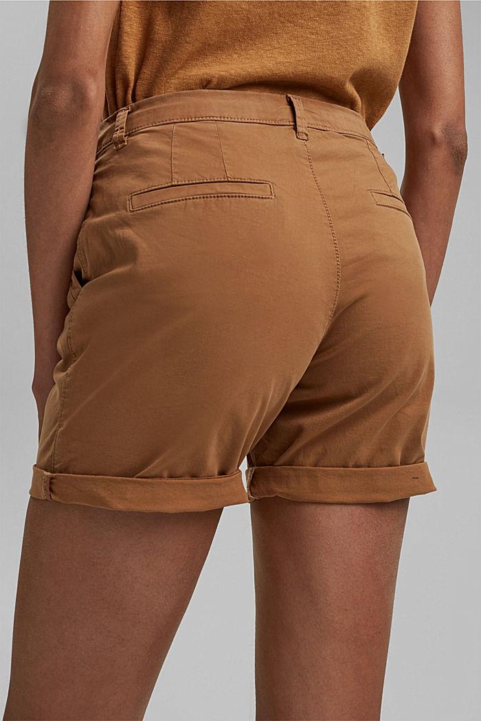Chino-Shorts aus Organic Cotton, CARAMEL, detail image number 2