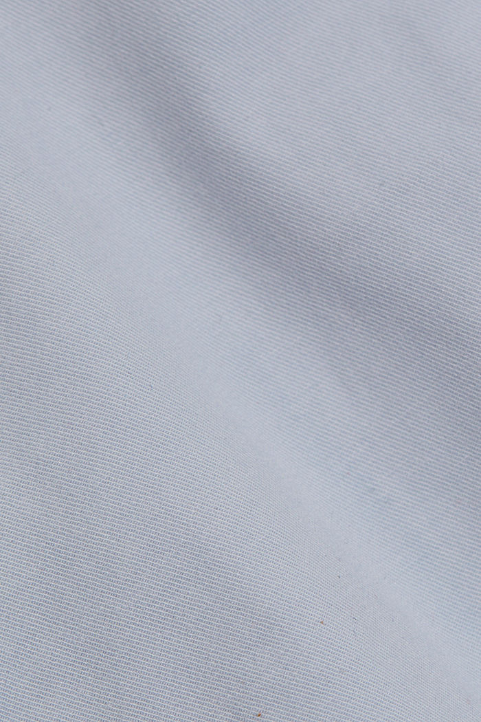 Chino shorts made of organic cotton, LIGHT BLUE LAVENDER, detail image number 4