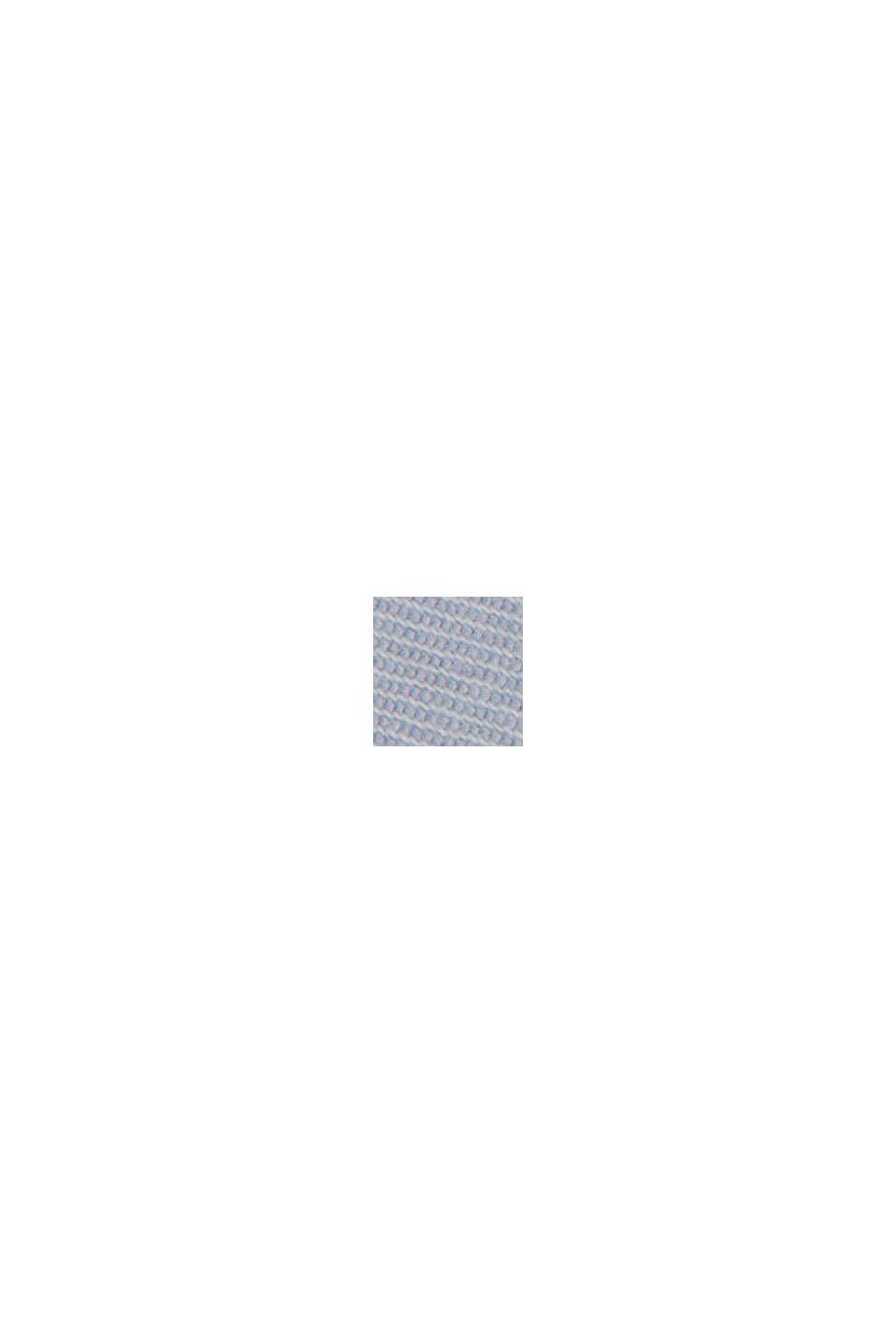 Chino-shorts af økologisk bomuld, LIGHT BLUE LAVENDER, swatch