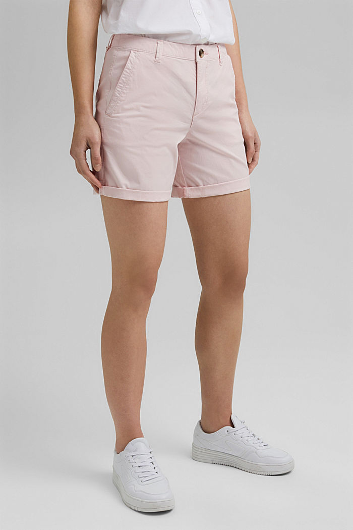 Chino-Shorts aus Organic Cotton, LIGHT PINK, detail image number 0