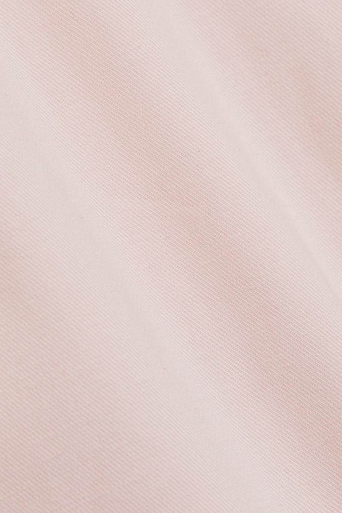 Chino shorts made of organic cotton, LIGHT PINK, detail image number 4