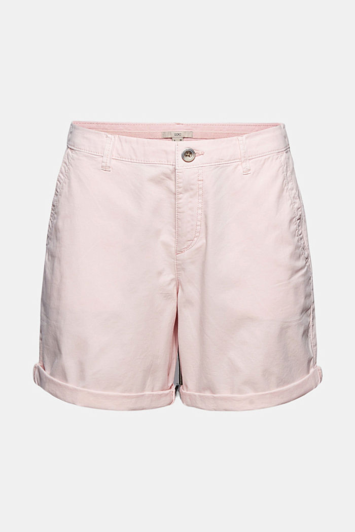Chino-Shorts aus Organic Cotton, LIGHT PINK, detail image number 6