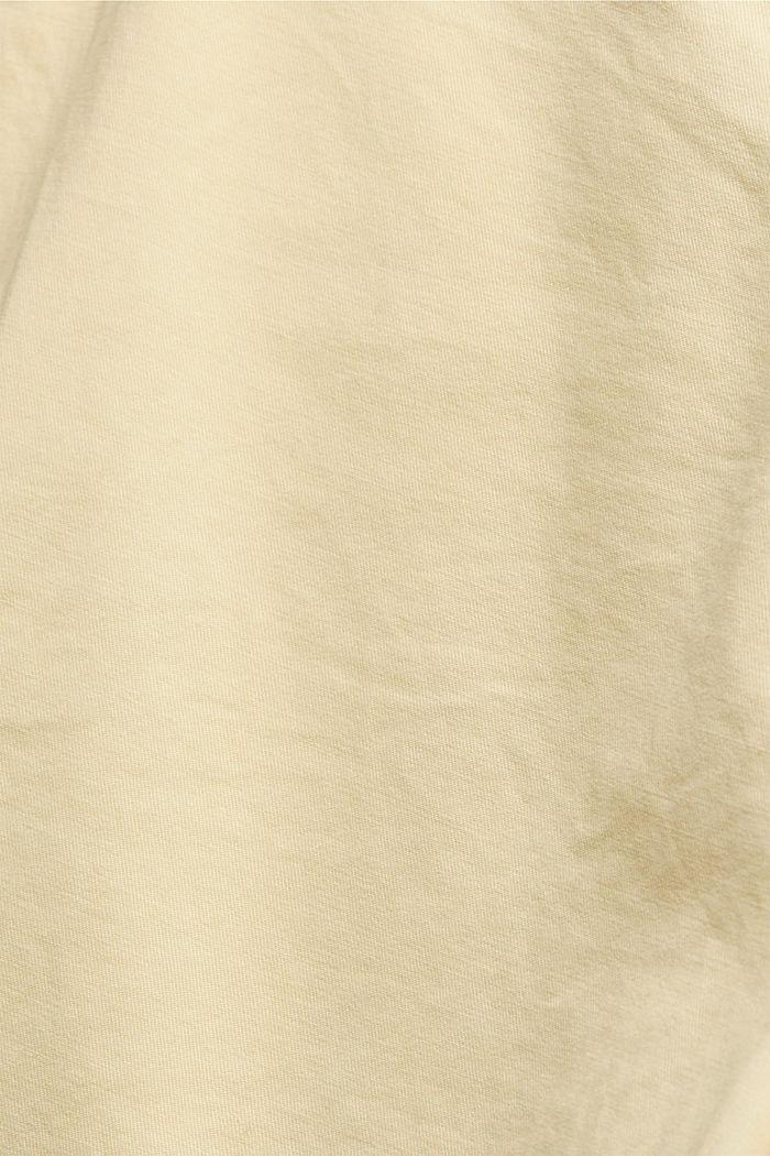 Szorty chinosy z bawełny organicznej, LIGHT YELLOW, detail image number 4
