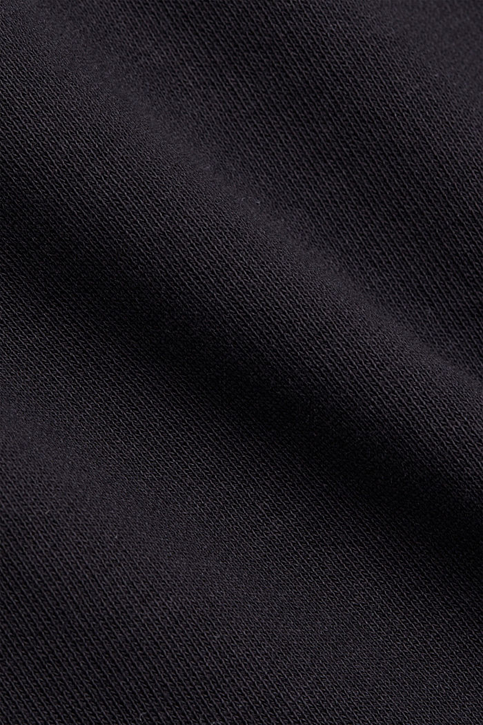 Sweat-Rock aus 100% Organic Cotton, BLACK, detail image number 4